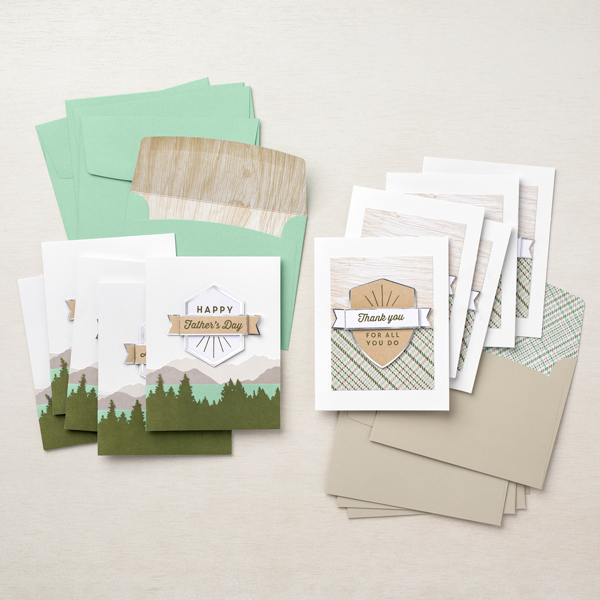 Stampin' Up! Kit Collection,  For the Guys Card Kit, Stampin' Studio