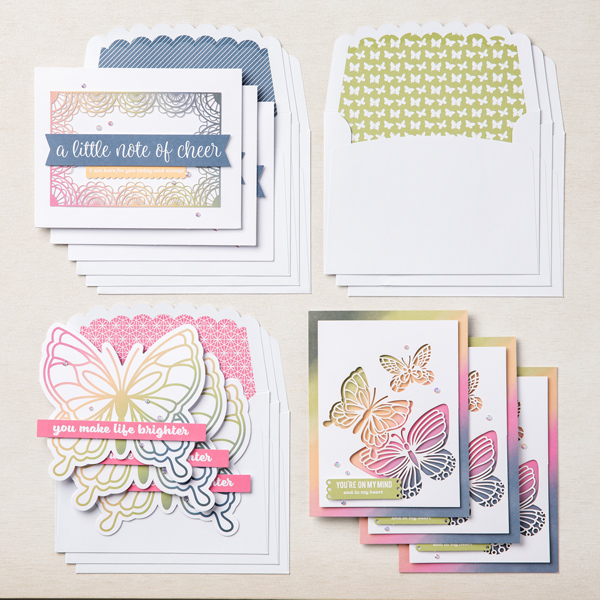 Stampin' Up! Kit Collection,  Notes of Cheer Card Kit, Stampin' Studio