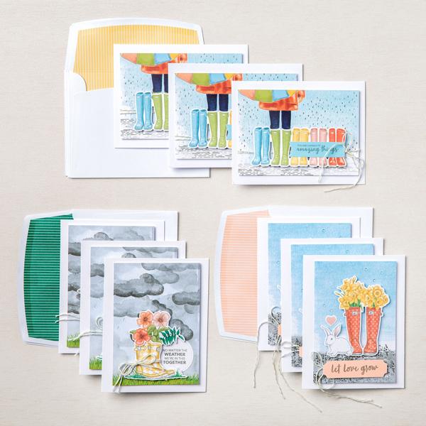 Stampin' Up! Kit Collection, No Matter the Weather Card Kit, Stampin' Studio