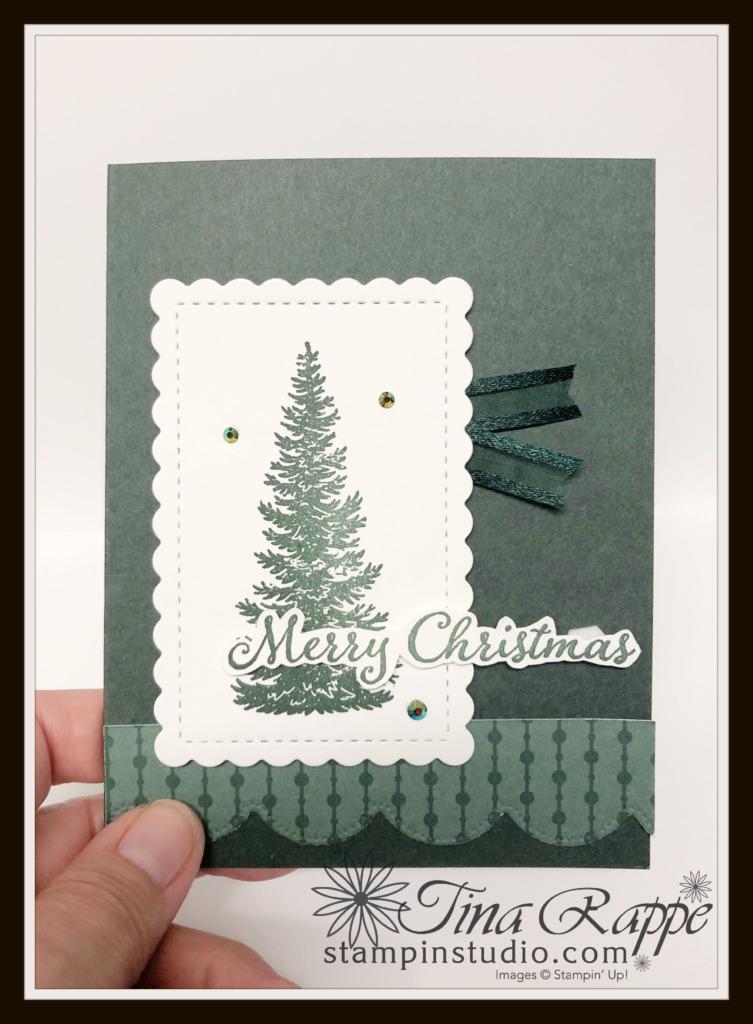 Stampin' Up! Evergreen Elegance stamp set, In Color, Stampin' Studio