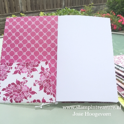 fresh floral designer series paper stampin up