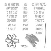 Sunshine Sayings Clear-Mount Stamp Set