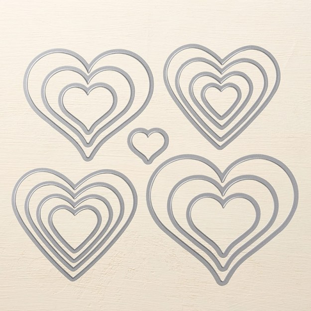 Framelits 141707 Herz von Herz Image