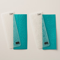 Petal Pair Textured Impressions Embossing Folders