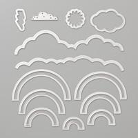 Rainbow Builder Framelits Dies