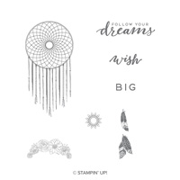 Follow Your Dreams Clear-Mount Stamp Set