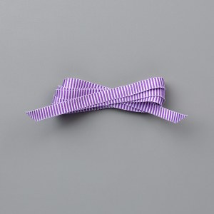 Gorgeous Grape Mini Striped Ribbon