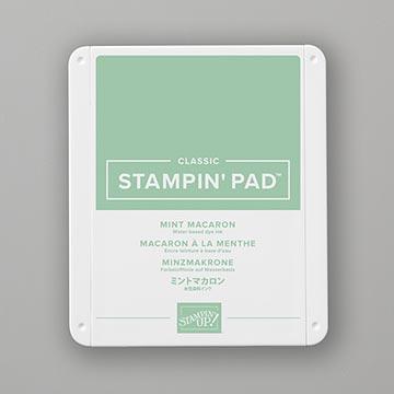 mint green stamp pad