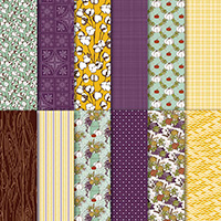 Country Lane 12 x 12 (30.5 x 30.5 cm) Designer Series Paper