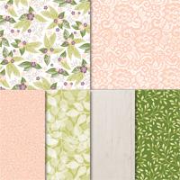 Floral Romance 12 X 12 (30.5 X 30.5 Cm) Specialty Designer Series Paper