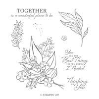 Wonderful Romance Cling Stamp Set