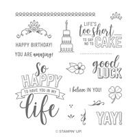 life and luck stamp set