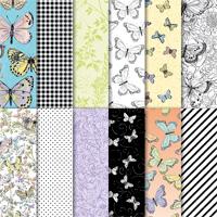 Botanical Butterfly Designer Series Paper