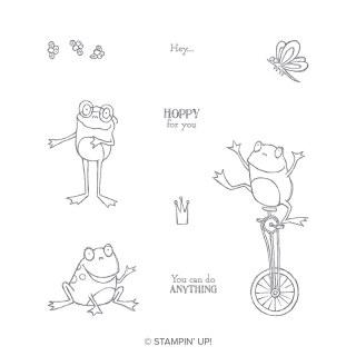 So Hoppy Together Cling Stamp Set