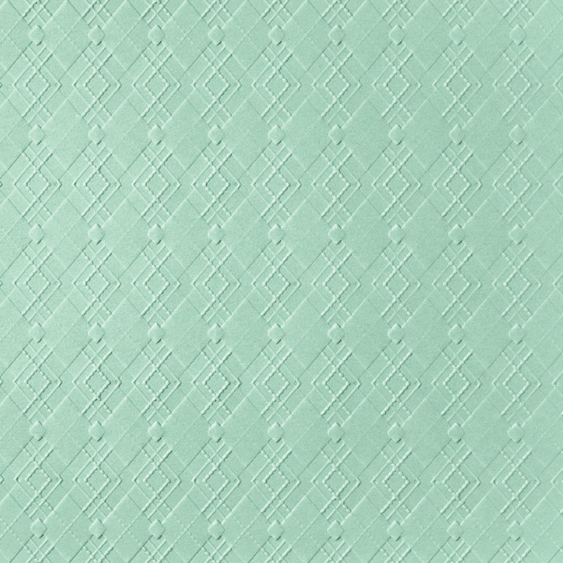 ABSOLUTELY ARGYLE 3D EMBOSSING FOLDER