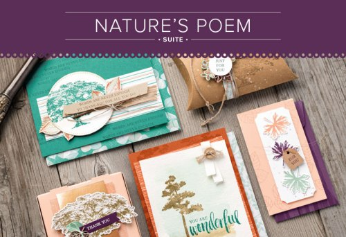 Nature's Poem Suite from Stampin' Up!