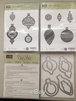 Stampin Up ORNAMENT KEEPSAKES Stamp Sets And HOLIDAY