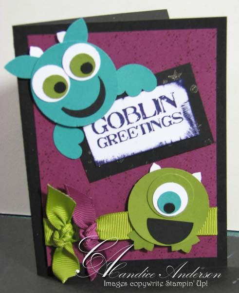 Goblins Card- Club Oct '09