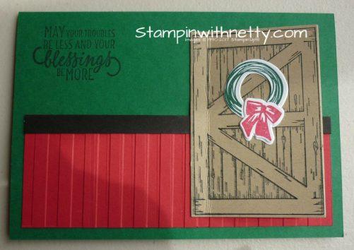 ChristmasBarnDoorCardStampinUpAnnetteMcMillan09102018