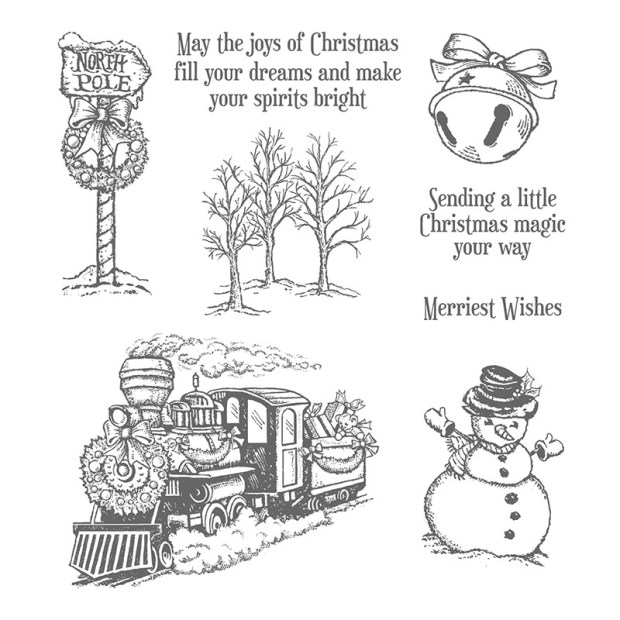 Christmas Magic Stamp Set by Stampin UP 2016