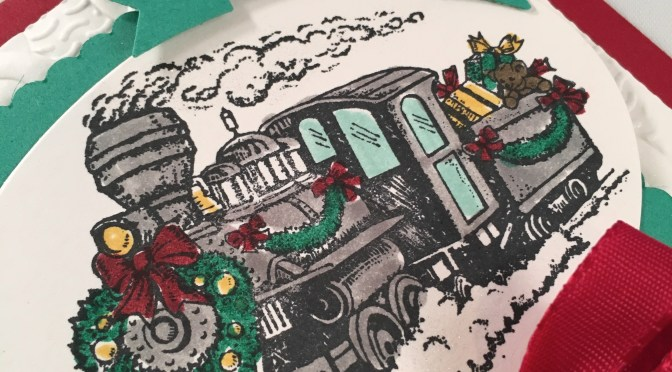 Christmas Magic Locomotive