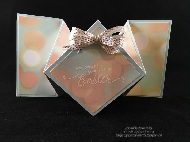 Diamond Fold Easter Card