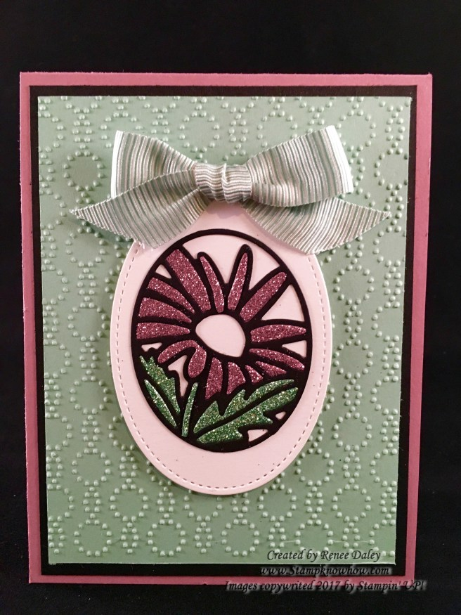 Image of Timeless Tags Stained Glass effect flower