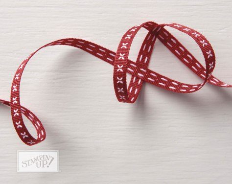 Cherry Cobbler Double Stitched 1/4