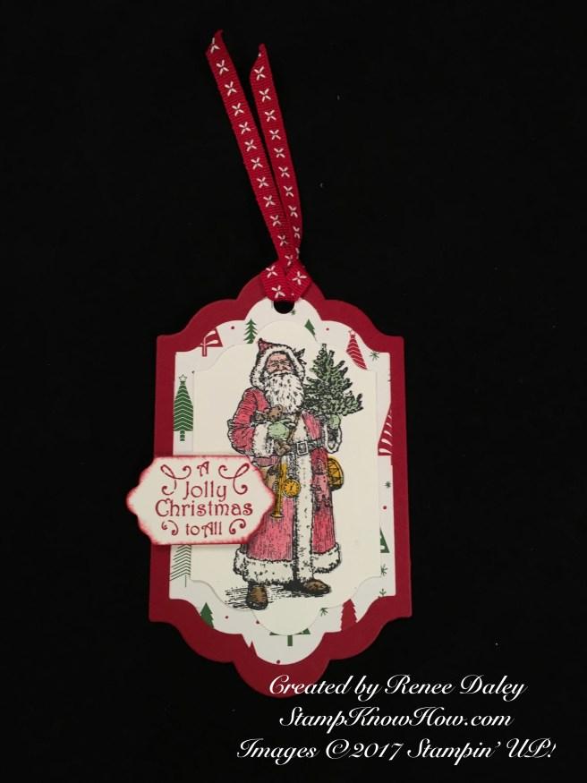 Father Christmas Tag