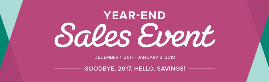 Stampin' Up's Year End Sale Event