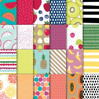 Tutti Fruiti Paper Stack by Stampin' UP