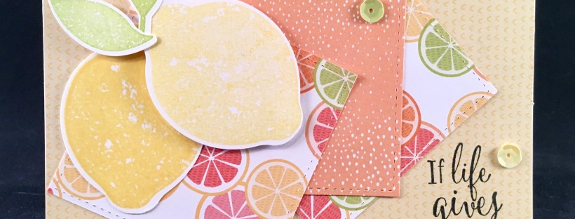 Lemon Zest Bundle from Stampin' UP
