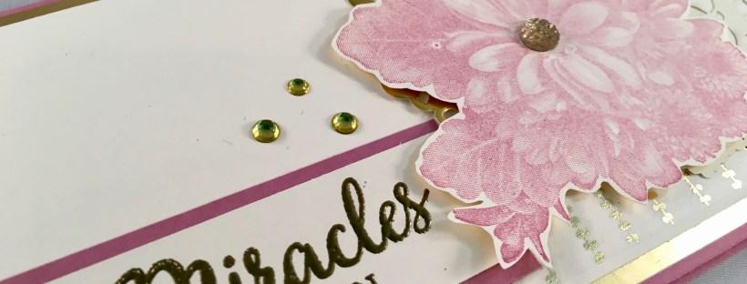 Close up Image of Heartfelt Bloom Stamped Card