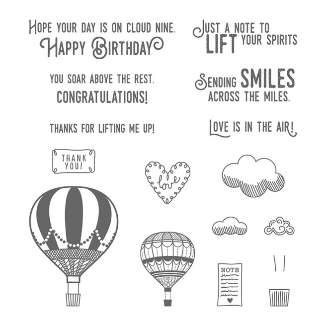 Lift Me Up Stamp Set by Stampin' UP
