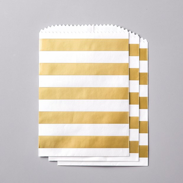Striped Treat Bags by Stampin' UP