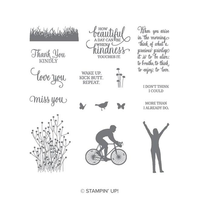 Enjoy Life Stamp Set by Stampin' UP