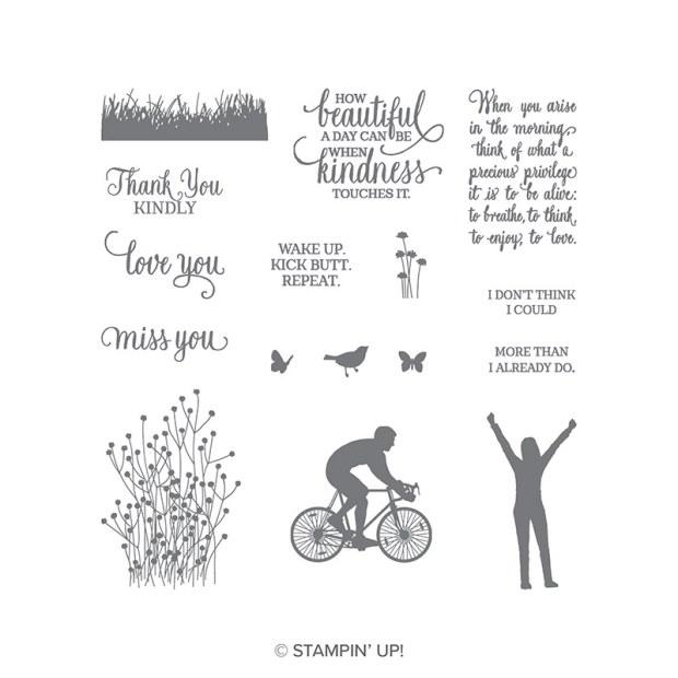 Enjoy Life Photopolymer Stamp Set by Stampin' Up
