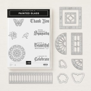 Painted Glass Bundle by Stampin' UP