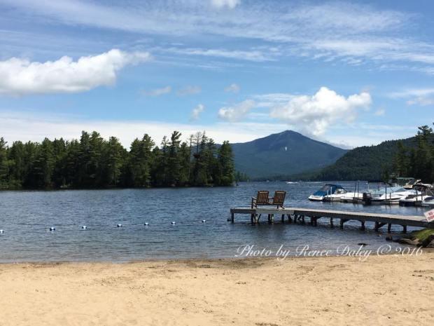 Whiteface Lodge's Lake in Lake Placid, New York