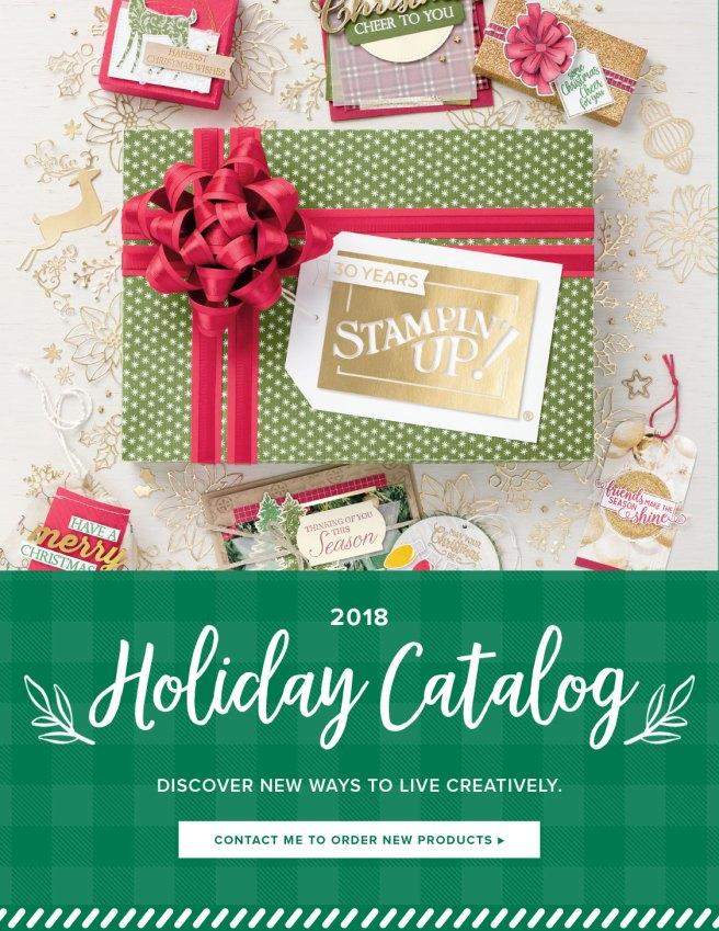 Stampin' Up Holiday Catalog 2018