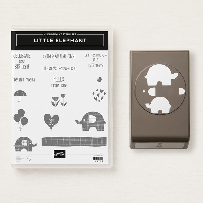 A Little Elephant Bundle by Stampin' Up