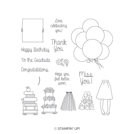 Hand Delivered Hostess Stamp Set by Stampin' Up