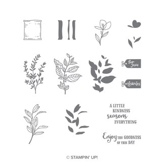 Seasoned with Kindness Stamp Set by Stampin' Up