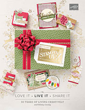 Stampin' Up Holiday Catalog