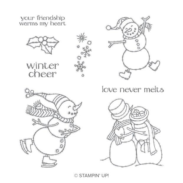 Spirited Snowmen Stamp Set by Stampin' Up!