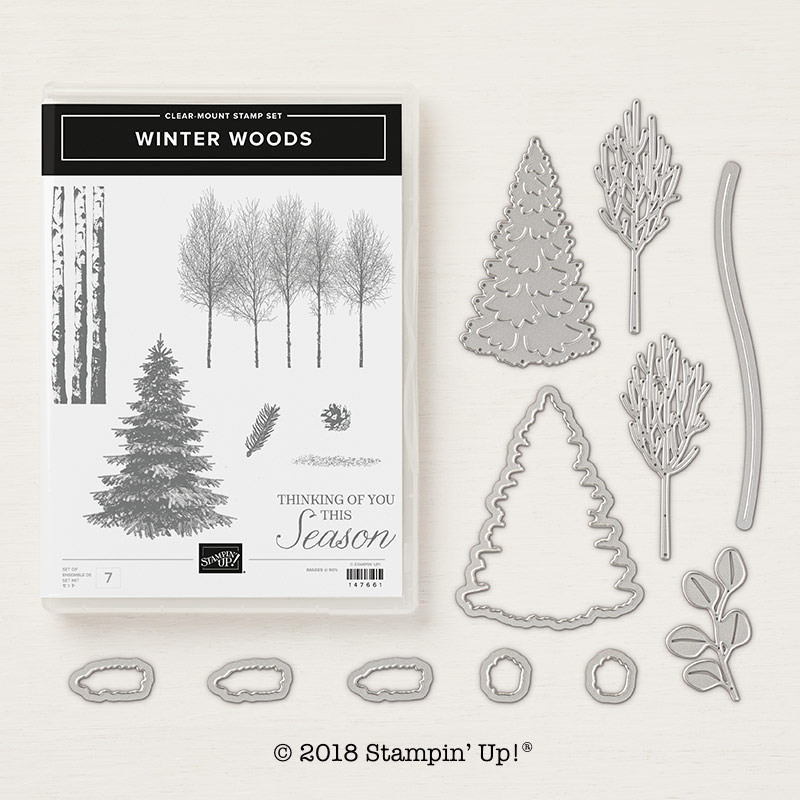 Winter Woods Bundle by Stampin' Up!