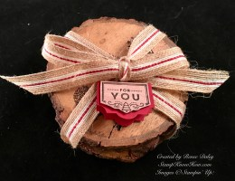 Lovely As A Tree Coaster Gift Set