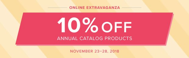 Online Extravaganza Sale for Stampin' Up!