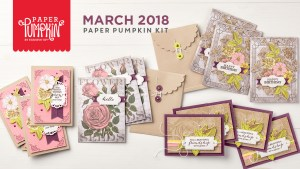 March 2018 Paper Pumpkin Kit by Stampin' Up!