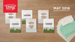 May 2018 Paper Pumpkin Kit by Stampin' Up!